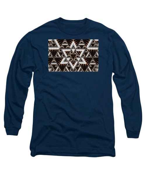 Order And Chaos Long Sleeve T-Shirt by Manny Lorenzo