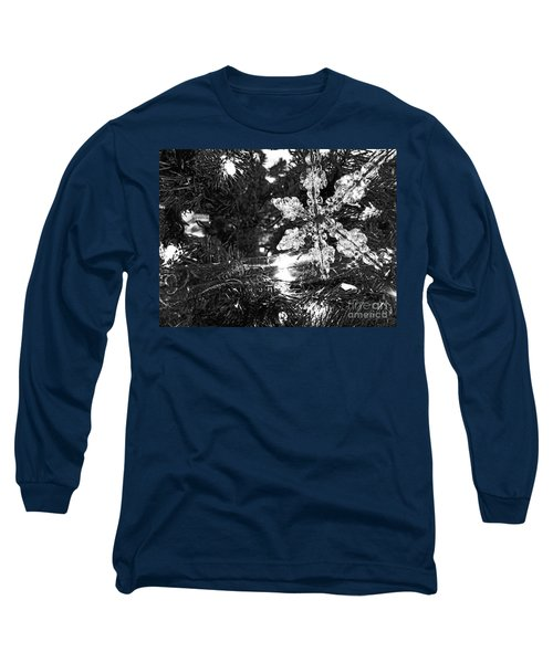 Long Sleeve T-Shirt featuring the photograph Ornamental Snowflake by Robert Knight