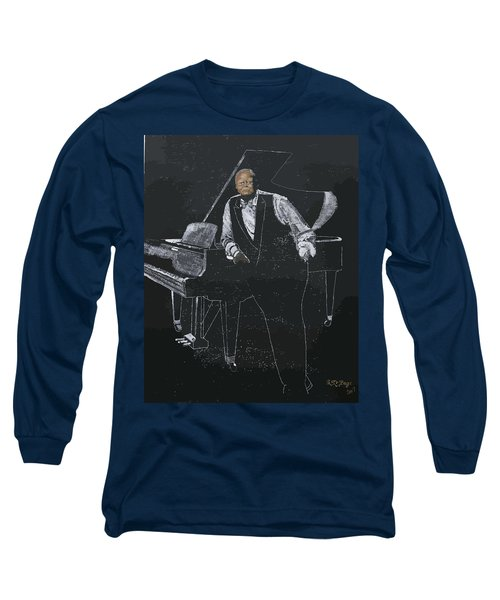 Oscar Peterson Long Sleeve T-Shirt