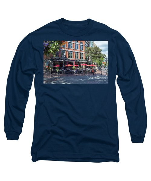 Oudoors Restaurant Vancouver Long Sleeve T-Shirt