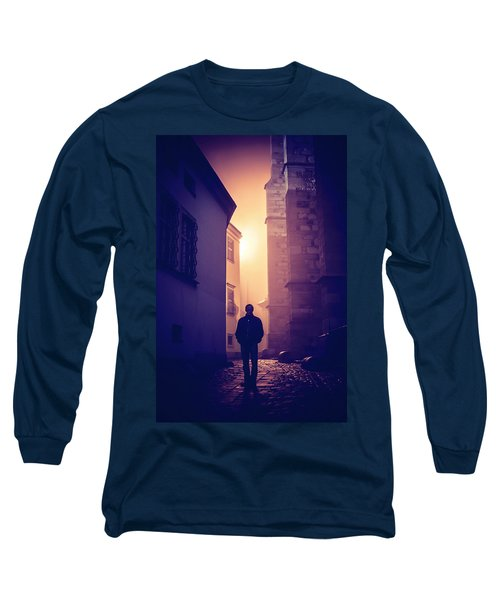 Long Sleeve T-Shirt featuring the photograph Out Of Time by Jenny Rainbow