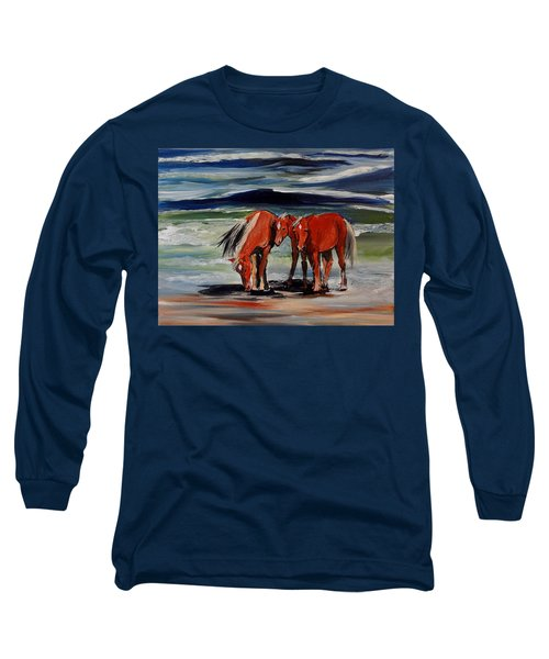 Outer Banks Wild Horses Long Sleeve T-Shirt