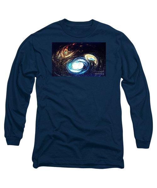Long Sleeve T-Shirt featuring the photograph Oval Dream - Modern Art by Merton Allen