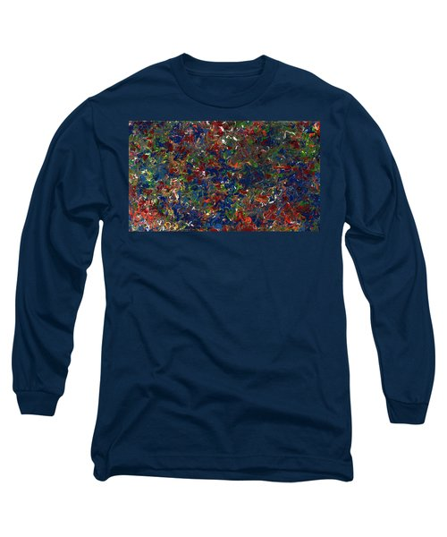 Paint Number 1 Long Sleeve T-Shirt