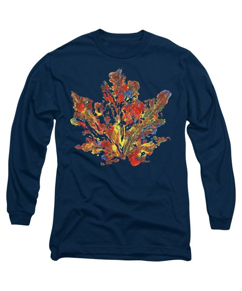 Painted Nature 1 Long Sleeve T-Shirt by Sami Tiainen