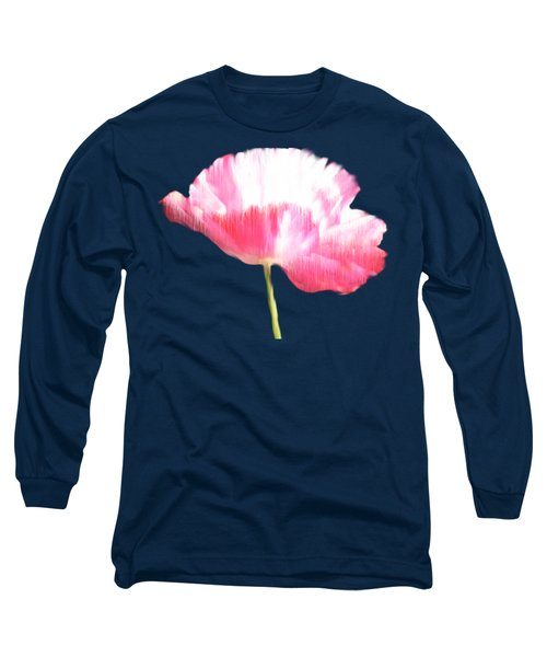 Painted Poppy T Shirt Long Sleeve T-Shirt