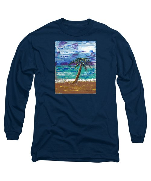 Palm Beach Long Sleeve T-Shirt by J R Seymour