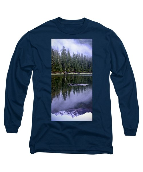 Pamelia Lake Reflection Long Sleeve T-Shirt