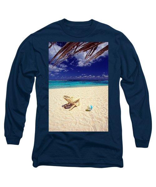 Paradise Beach Ball Long Sleeve T-Shirt