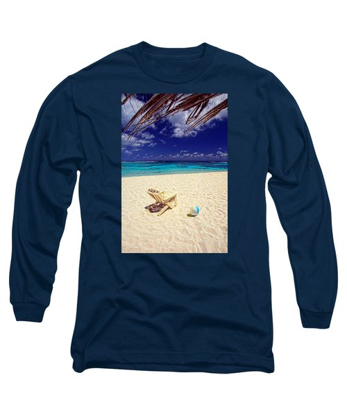 Paradise Beach Ball Long Sleeve T-Shirt