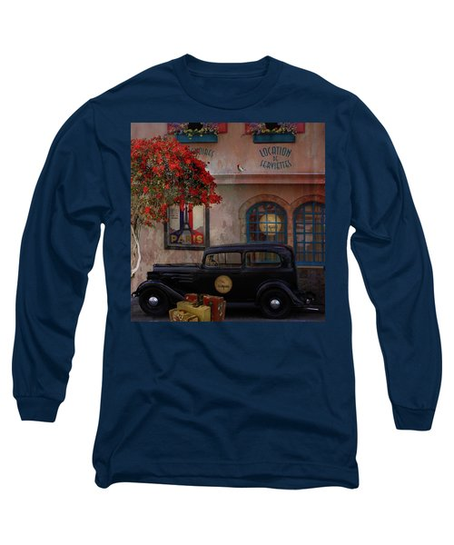 Long Sleeve T-Shirt featuring the digital art Paris In Spring by Jeff Burgess