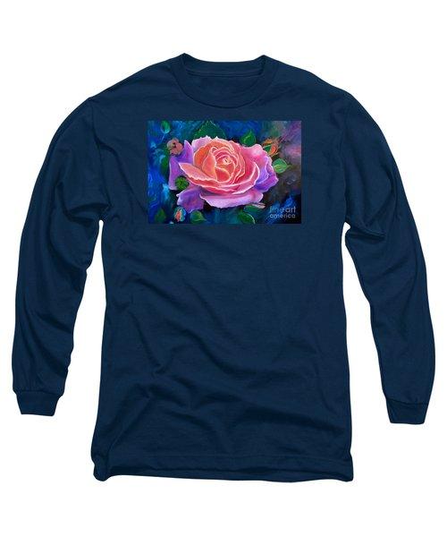 Gala Rose Long Sleeve T-Shirt by Jenny Lee