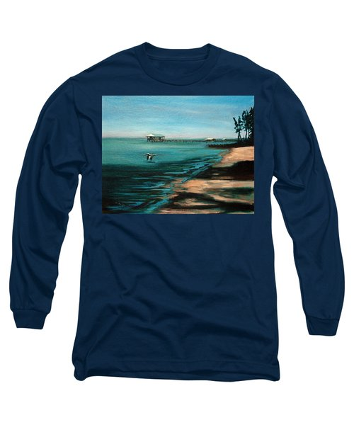 Long Sleeve T-Shirt featuring the painting Passing By Again by Suzanne McKee