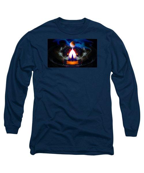 Passion Eclipsed Long Sleeve T-Shirt by Glenn Feron