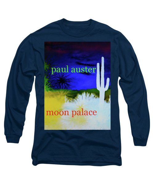 Paul Auster Poster Moon Palace Long Sleeve T-Shirt