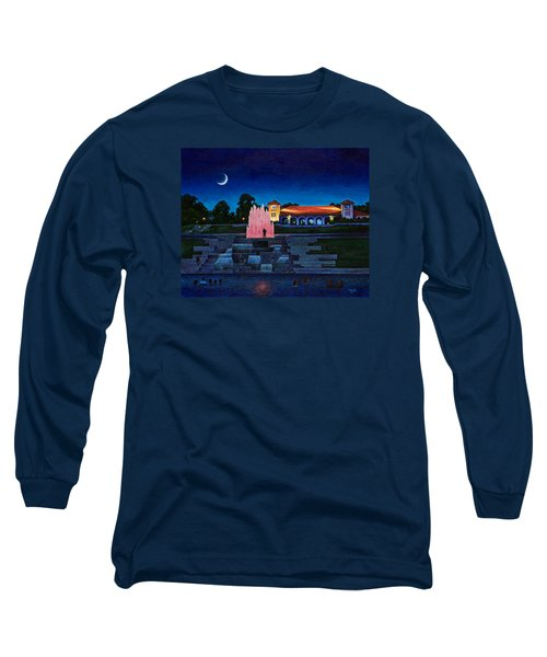 Pavilion Fountains Long Sleeve T-Shirt by Michael Frank