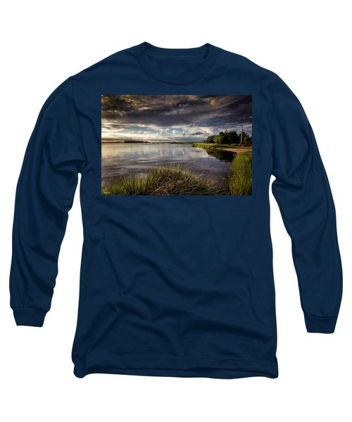 Peace Along The Cape Fear Long Sleeve T-Shirt by Phil Mancuso