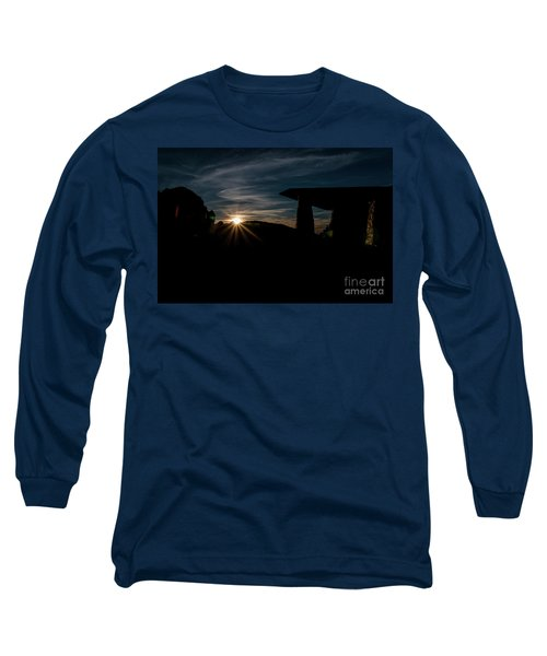 Peaceful Moment II Long Sleeve T-Shirt by Deborah Klubertanz