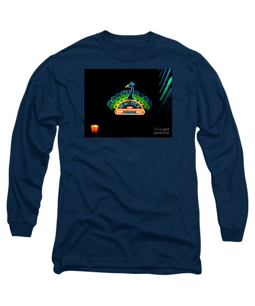 Peacock Diner In The Loop Long Sleeve T-Shirt