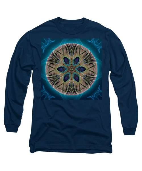 Peacock Power Long Sleeve T-Shirt