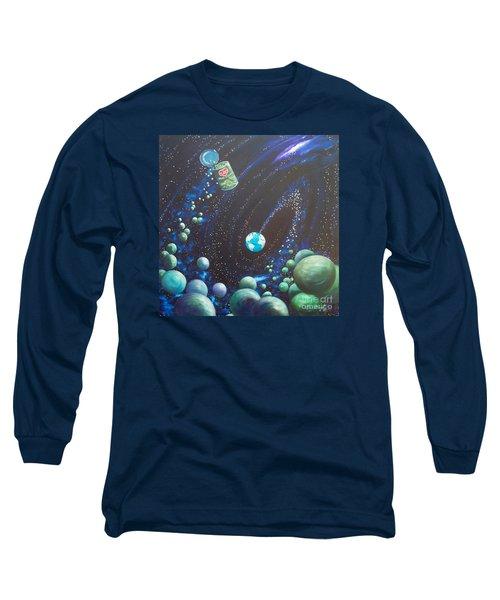 Blaa Kattproduksjoner       Peas On Earth Long Sleeve T-Shirt
