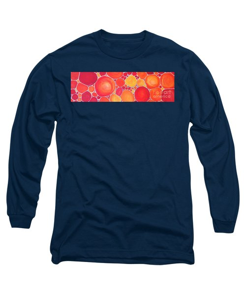 Pebbles At Sunset  Long Sleeve T-Shirt