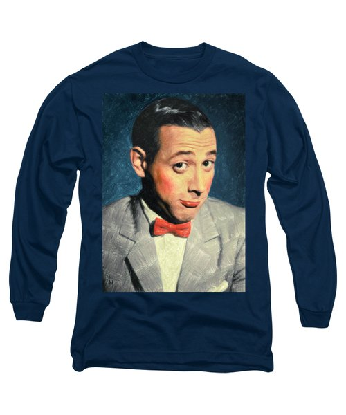 Pee-wee Herman Long Sleeve T-Shirt