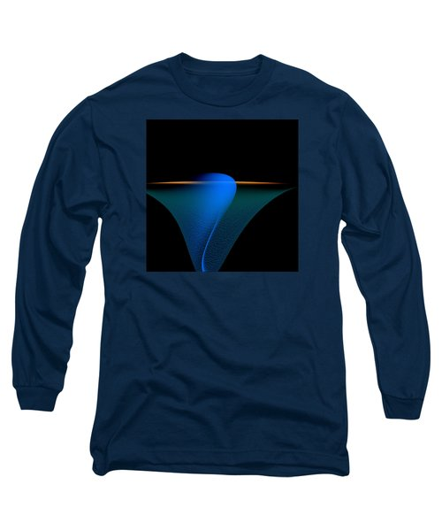 Long Sleeve T-Shirt featuring the painting Penman Original-329 by Andrew Penman