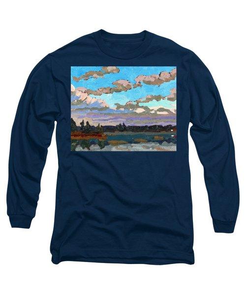 Pensive Clouds Long Sleeve T-Shirt