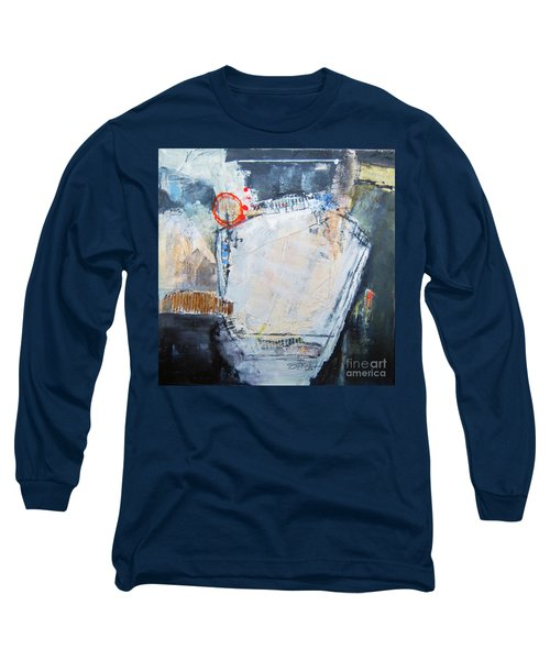 Long Sleeve T-Shirt featuring the painting Pentagraphic by Ron Stephens