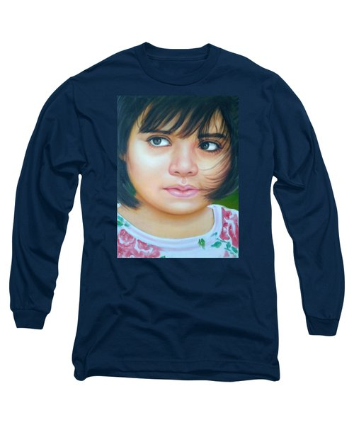 Perfect To Paint Long Sleeve T-Shirt by Khalid Saeed