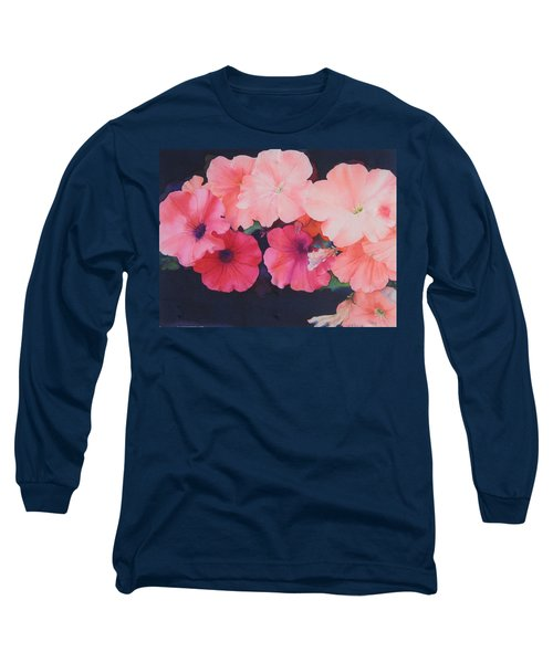Petunias Long Sleeve T-Shirt
