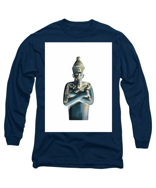Long Sleeve T-Shirt featuring the digital art Pharaoh by Elizabeth Lock