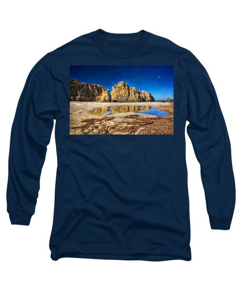 Long Sleeve T-Shirt featuring the photograph Pheiffer Beach - Keyhole Rock #16 - Big Sur, Ca by Jennifer Rondinelli Reilly - Fine Art Photography