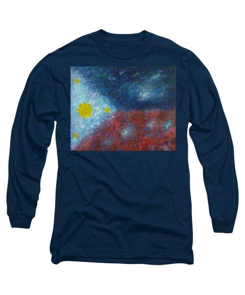 Philippine Flag Long Sleeve T-Shirt