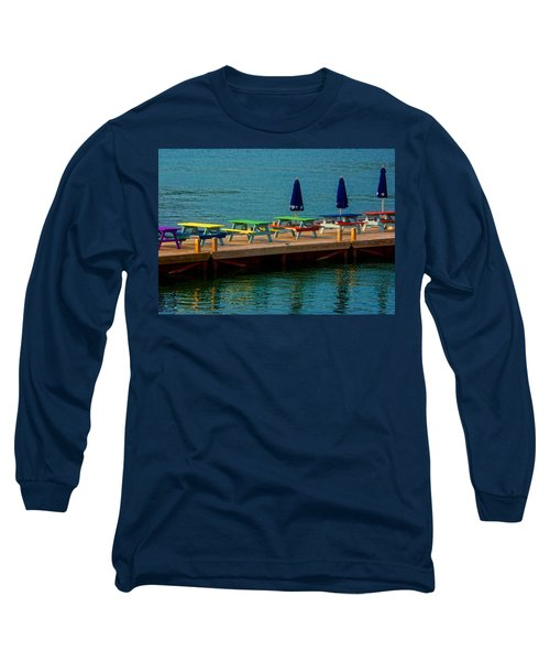 Picnic On The Water Long Sleeve T-Shirt