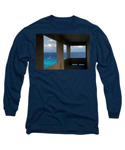 Picture Windows Long Sleeve T-Shirt