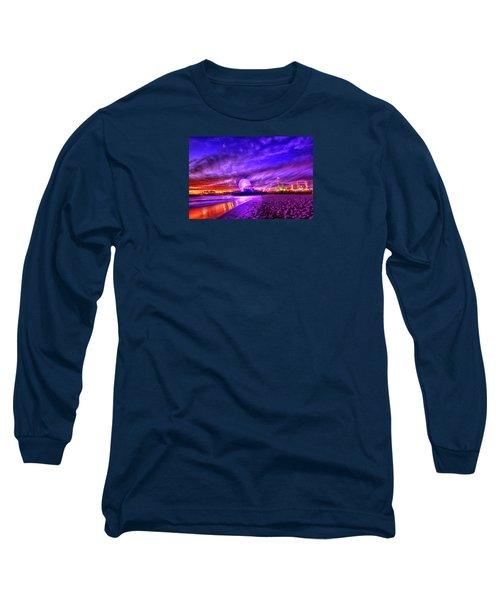 Pier Of Lights Long Sleeve T-Shirt