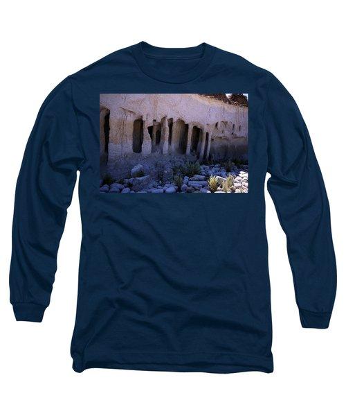 Pillars And Caves, Crowley Lake Long Sleeve T-Shirt