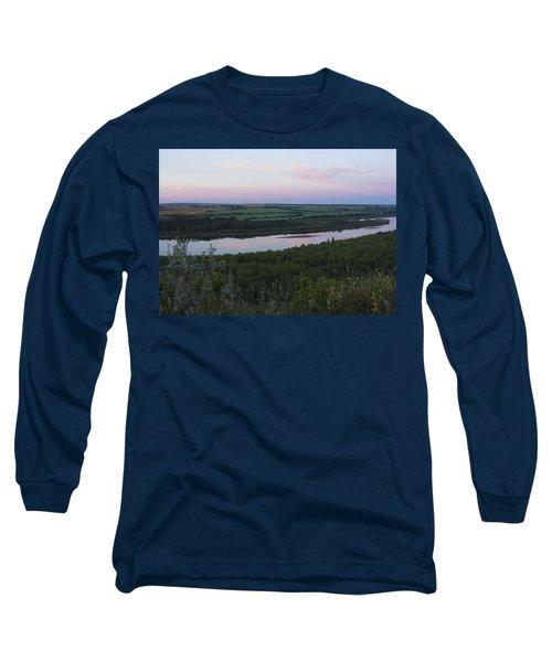 Pine Island Long Sleeve T-Shirt by Ellery Russell