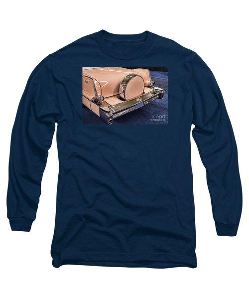 Pink Caddy Long Sleeve T-Shirt by Steven Parker