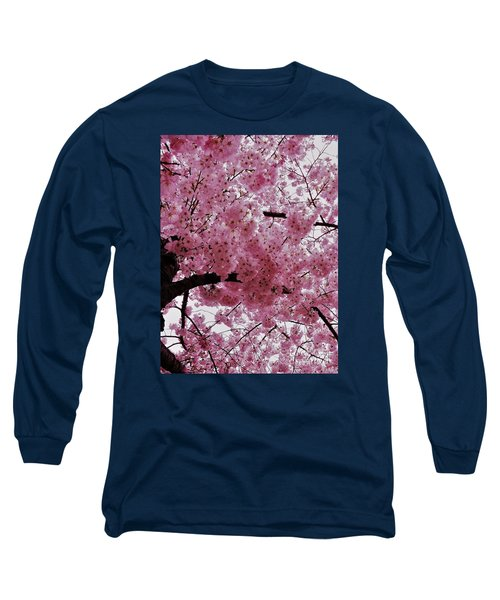 Pink Canopy Long Sleeve T-Shirt