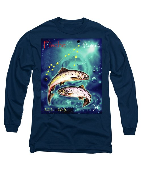 Pisces In The Sky Long Sleeve T-Shirt
