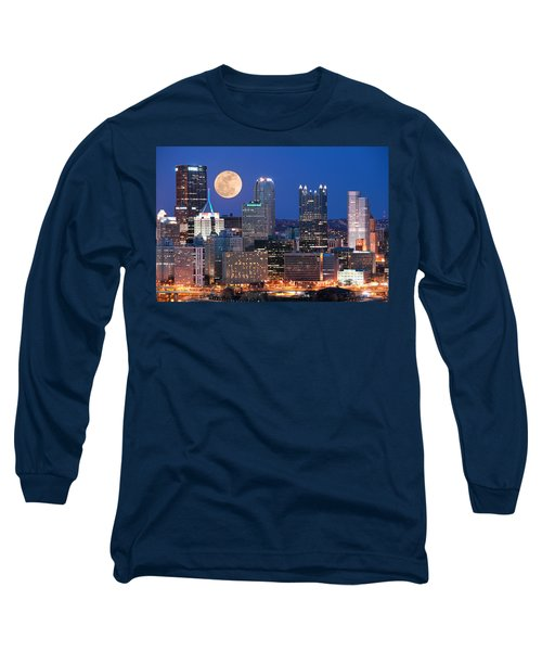 Pittsburgh 6 Long Sleeve T-Shirt by Emmanuel Panagiotakis