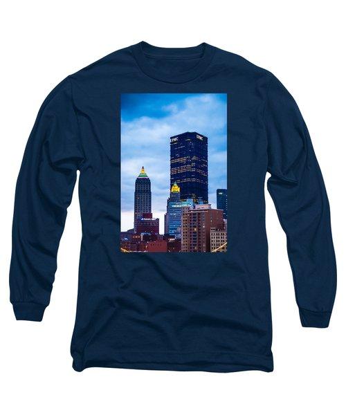 Pittsburgh - 7012 Long Sleeve T-Shirt by G L Sarti