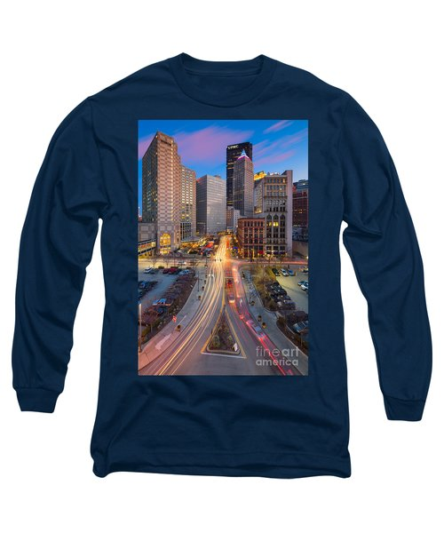 Pittsburgh Cultural District Long Sleeve T-Shirt
