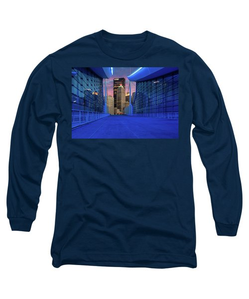 Pittsburgh In Blue  Long Sleeve T-Shirt