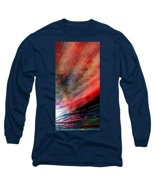 Pittura Digital Ghibill25e Long Sleeve T-Shirt by Sheila Mcdonald