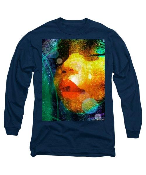 Placid Long Sleeve T-Shirt by Iowan Stone-Flowers