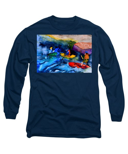 Platte River Paddling Long Sleeve T-Shirt